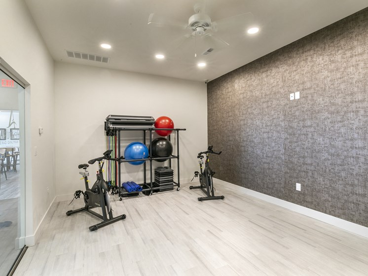 Yoga Studio at Aventura at Maryland Oaks