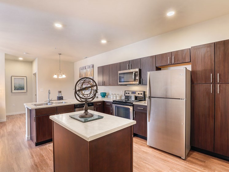 Stainless Appliance Package at Aventura at Maryland Oaks, St. Louis, MO