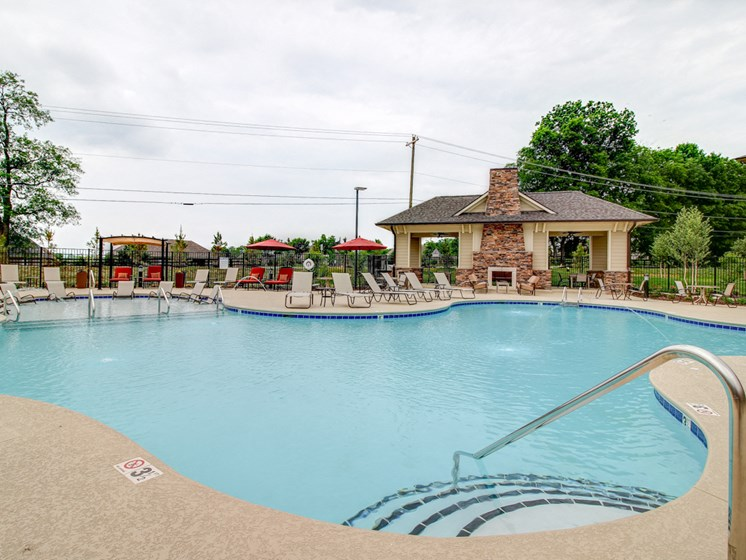 Resort Inspired Pool and Spa at The Edison at Peytona, Gallatin, 37066