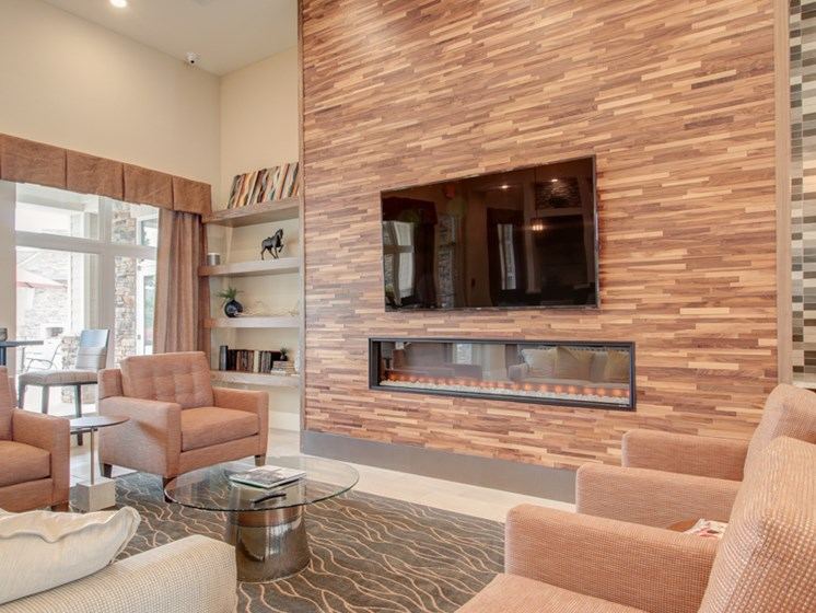 Stylish Clubhouse with Fireplace at The Edison at Peytona, Gallatin, 37066
