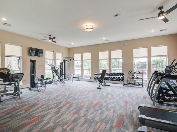 24 hour Fitness Center at The Edison at Peytona, Gallatin, Tennessee