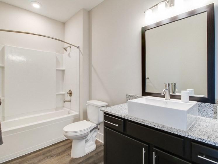 Raised Bowl Bathroom Sinks at The Edison at Peytona, Gallatin