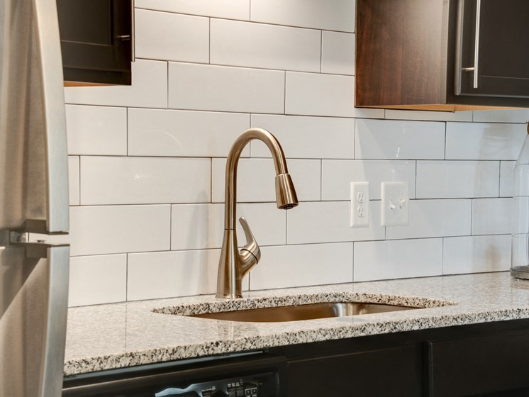 Modern Kitchens with Subway Tile Back Splash at The Edison at Peytona, Gallatin, 37066