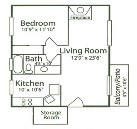 1C - Snapdragon Floor Plan 4