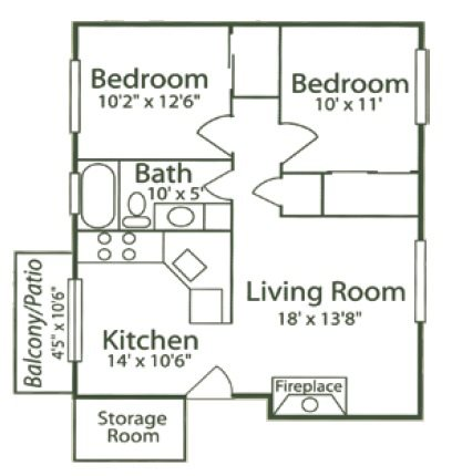 2B - Morning Glory Floor Plan 7