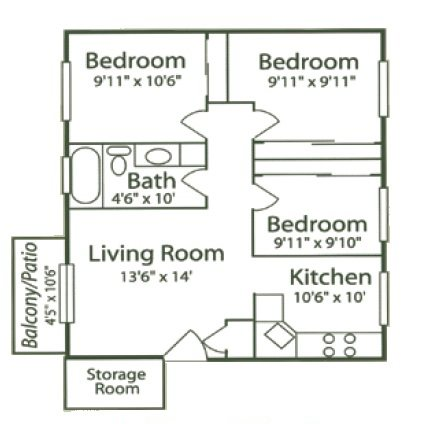 3 - Sunflower Floor Plan 8