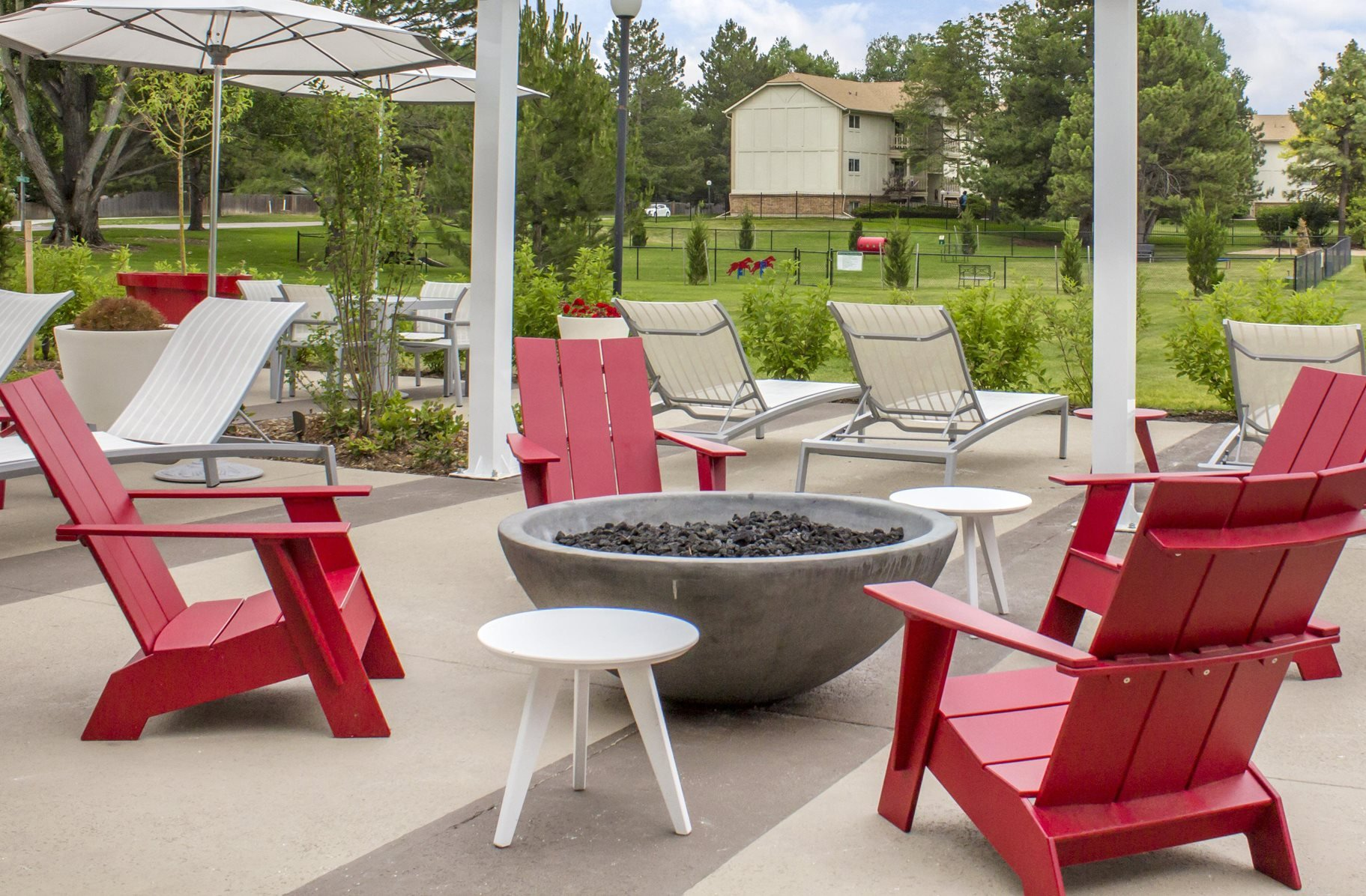 Fire Pit at Village Gardens Apartments in Fort Collins, CO