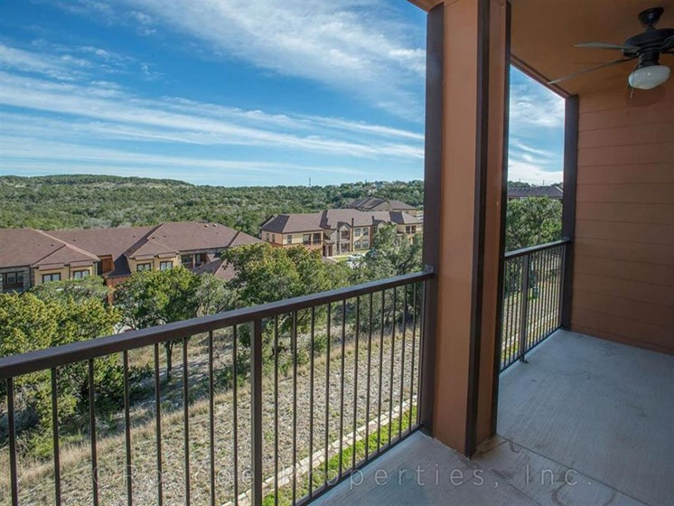 Private Balcony/Patio at Madrone, Austin, TX 78738