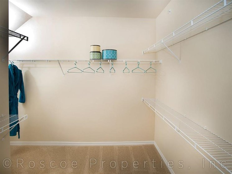 Expansive Closet Space at Madrone, Austin,Texas