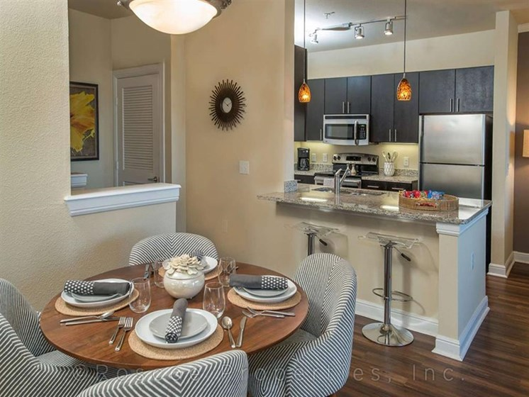 Separate Dining Area at Madrone, Texas, 78738