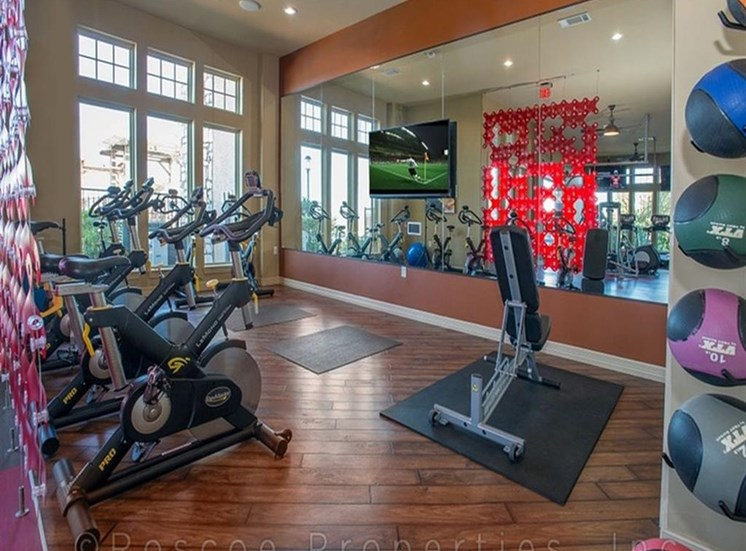 Cardio Equipment at Madrone, Austin
