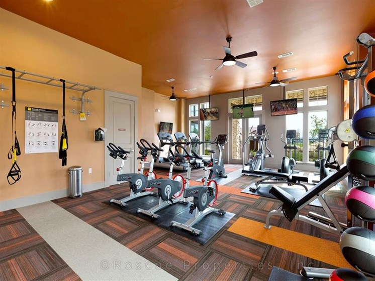 24 hour Fitness Center at Madrone, Texas