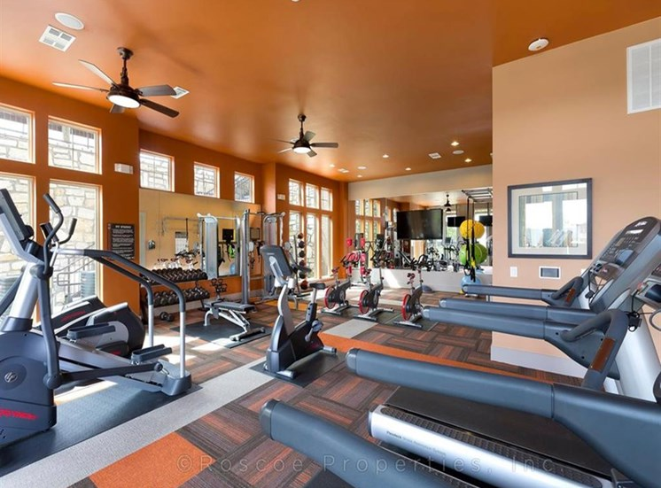 State-of-the-Art Fitness Center at Madrone, Texas, 78738