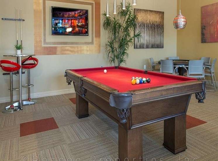 Game Room with Pool Table at Madrone, Austin, 78738