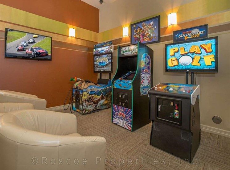 Modern Game Room at Madrone, Austin