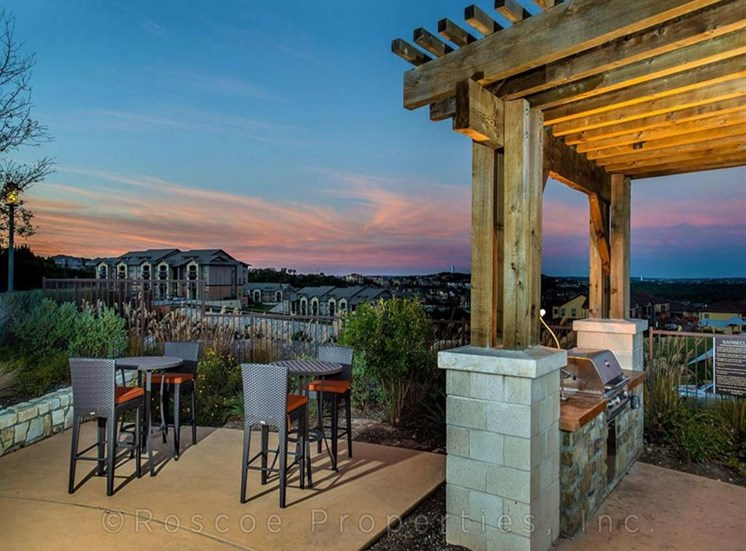 Grilling Station with Beautiful Views at Madrone, Austin