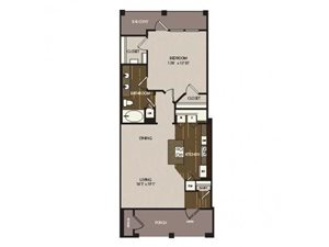 Floor plan at Madrone, Texas, 78738`