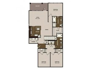 Floor plan at Madrone, Austin