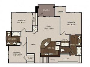 Floor plan at Madrone, Austin, TX 78738
