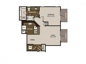 Floor plan at Madrone, Texas, 78738