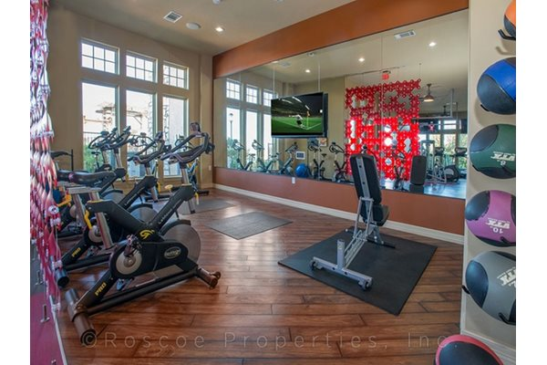 Fitness Center with Separate Spin Room at Madrone, Austin, TX 78738