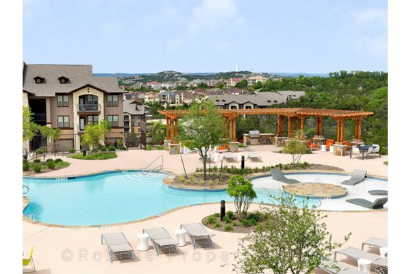 Sparkling Swimming Pool at Madrone, Texas, 78738