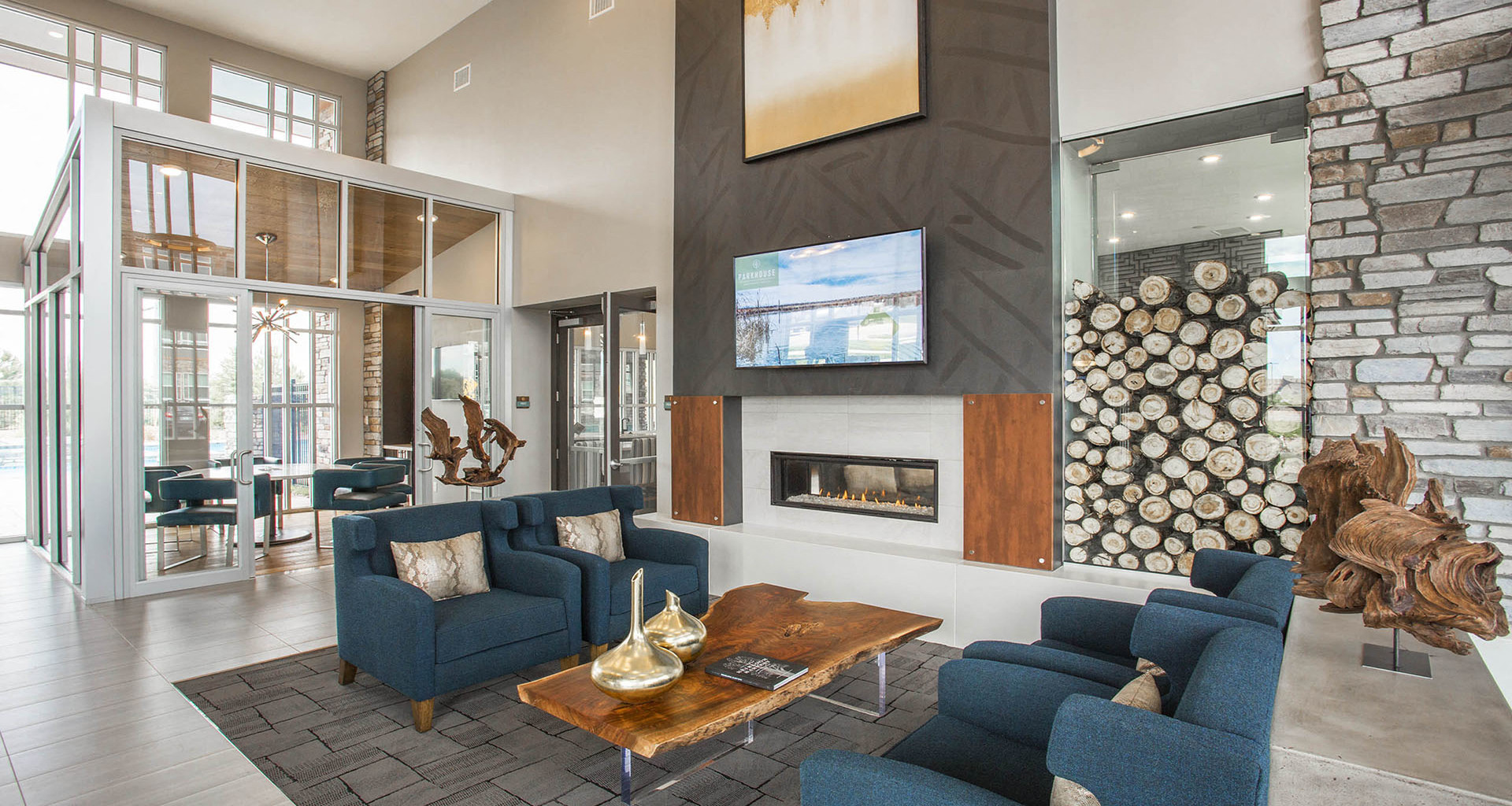 Newly Renovated Clubhouse At Parkhouse, Thornton, CO