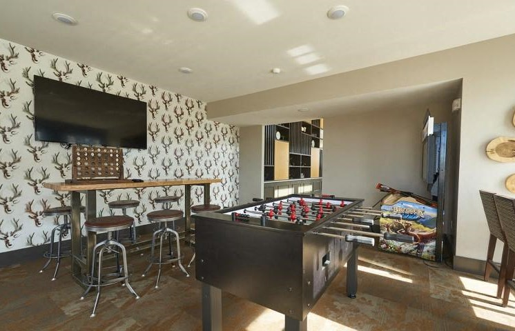 Indoor Grilling Station at Parkhouse, Colorado