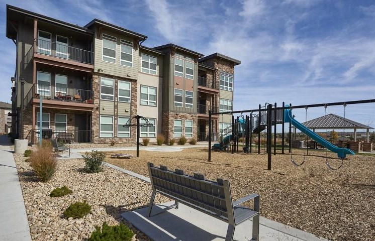 Children's Play Area at Parkhouse, Thornton,Colorado