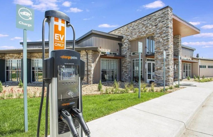 On-Site Charging Point at Parkhouse, Colorado