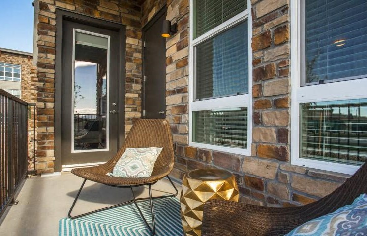 Private Balcony/Patio with Seating Arrangements at Parkhouse, Thornton, 80023