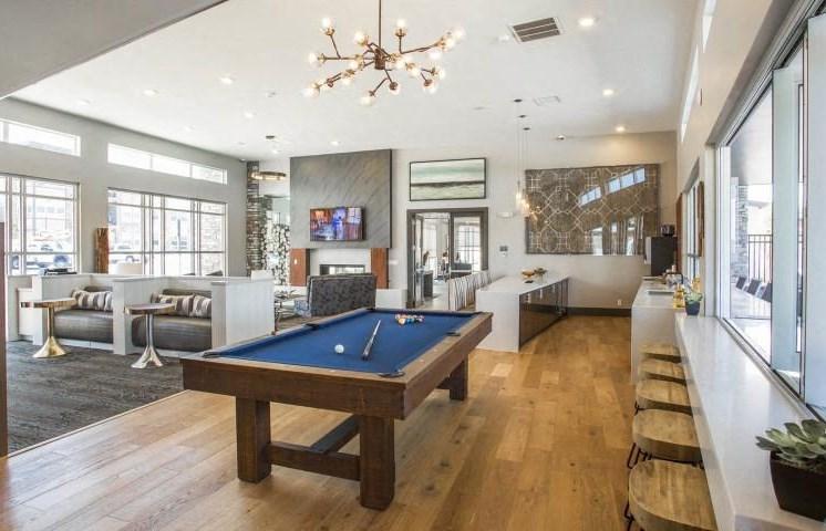 Two Clubhouses and Two Resident Lounges at Parkhouse, Thornton,Colorado