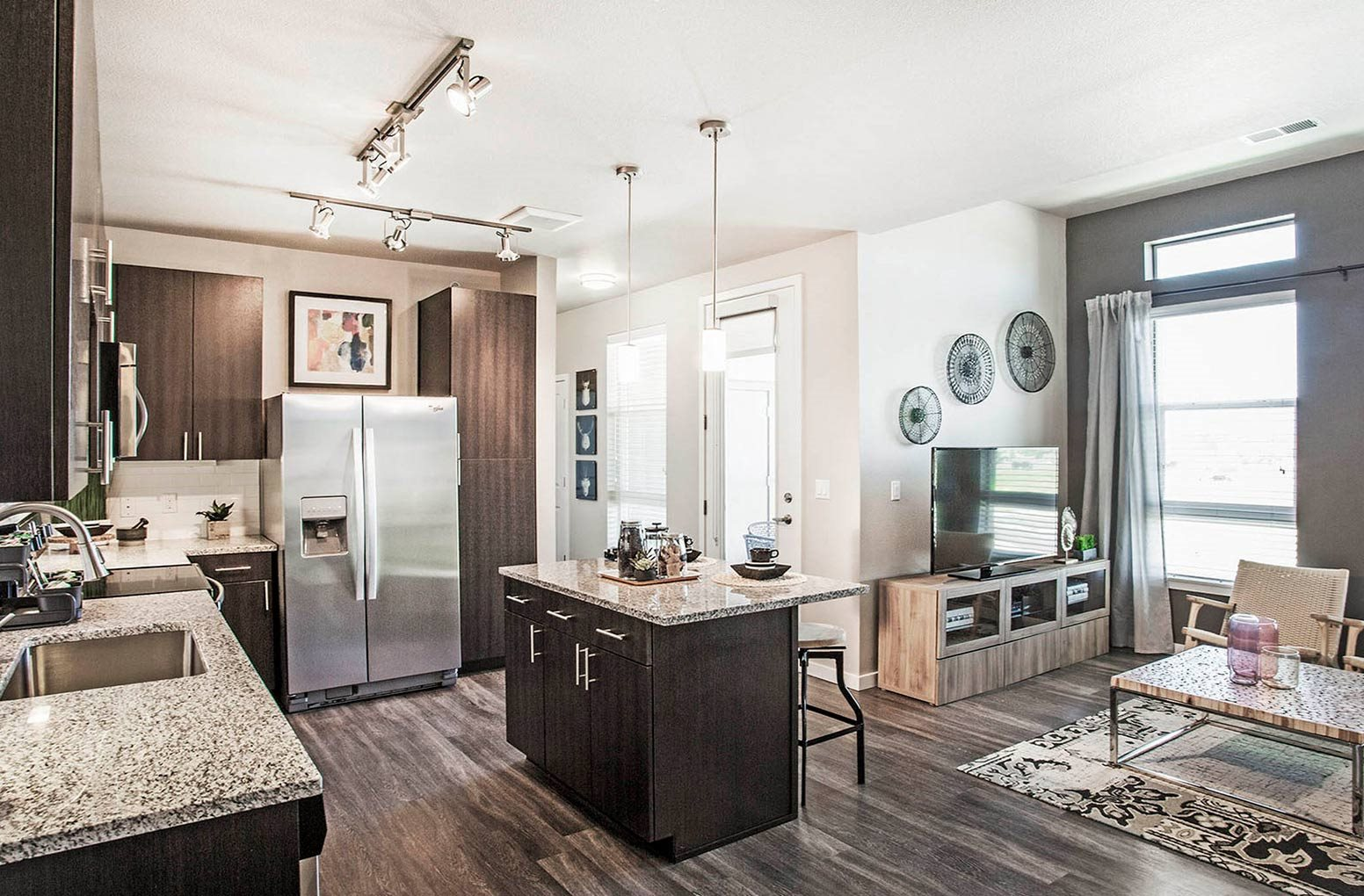 Floor to Ceiling Windows at Parkhouse, Colorado, 80023