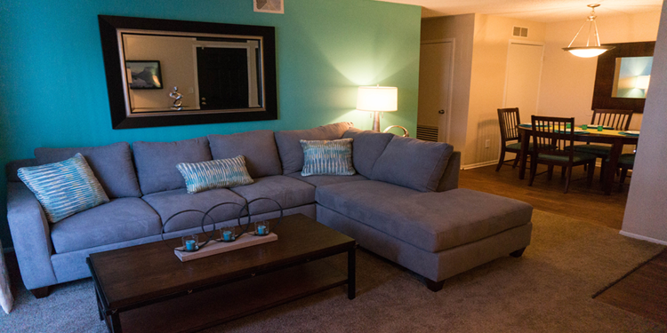 Check out our interiors at Brookwood Apartments in Wichita Kansas