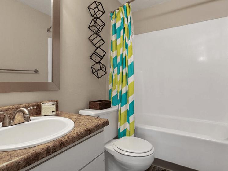 apartment bathroom in Wichita
