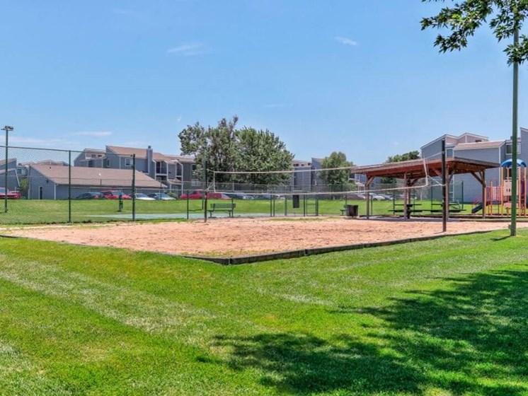 Apartments in Wichita, KS volleyball