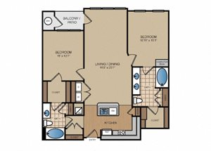 Two Bedroom | Two Bathroom