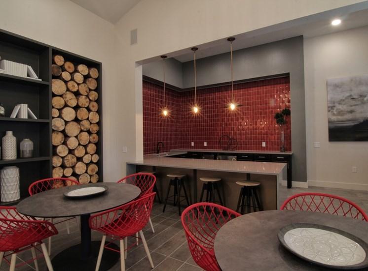lounge kitchen luxury apartments in castle rock
