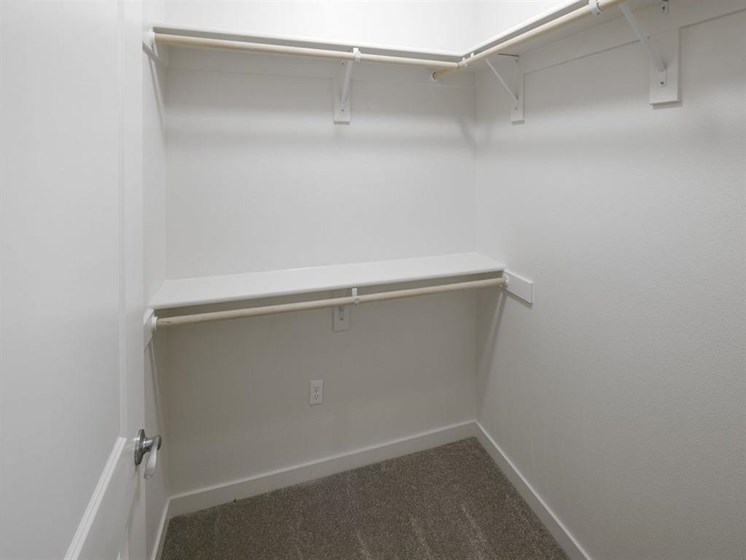 Roomy Walk-In and Reach-In Closets at Springville Oaks, 16320 NW Canton Street, Portland, OR 97229