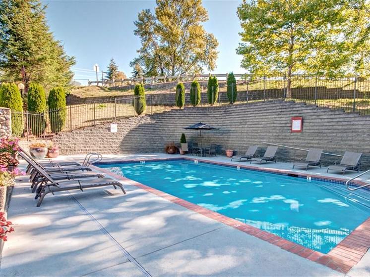 Pool Deck at Willina Ranch, Bothell, 98011