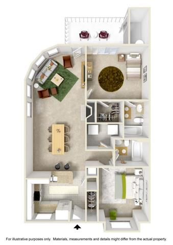 Floor Plan at Willina Ranch, Bothell, WA 98011