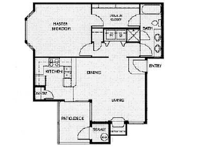Floor Plan at Willina Ranch, Bothell, WA