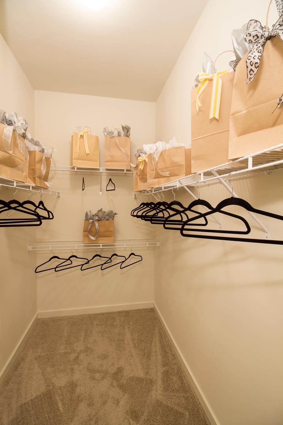 Generous Walk-in Closets at The District, Baton Rouge, LA