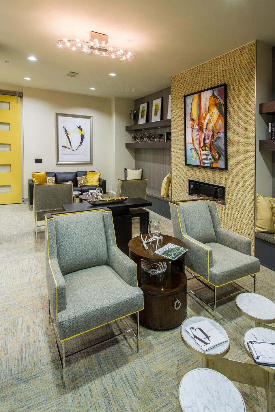 Luxurious Interiors at The District, Baton Rouge