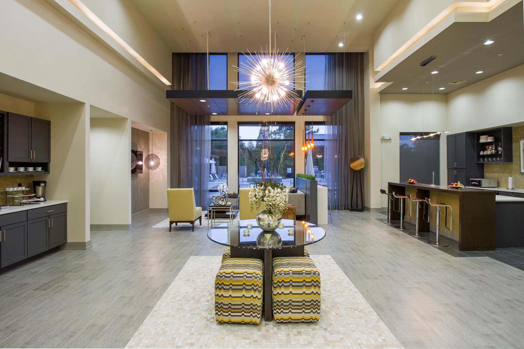 Clubhouse with Upgraded Interiors at The District, Baton Rouge, 70808