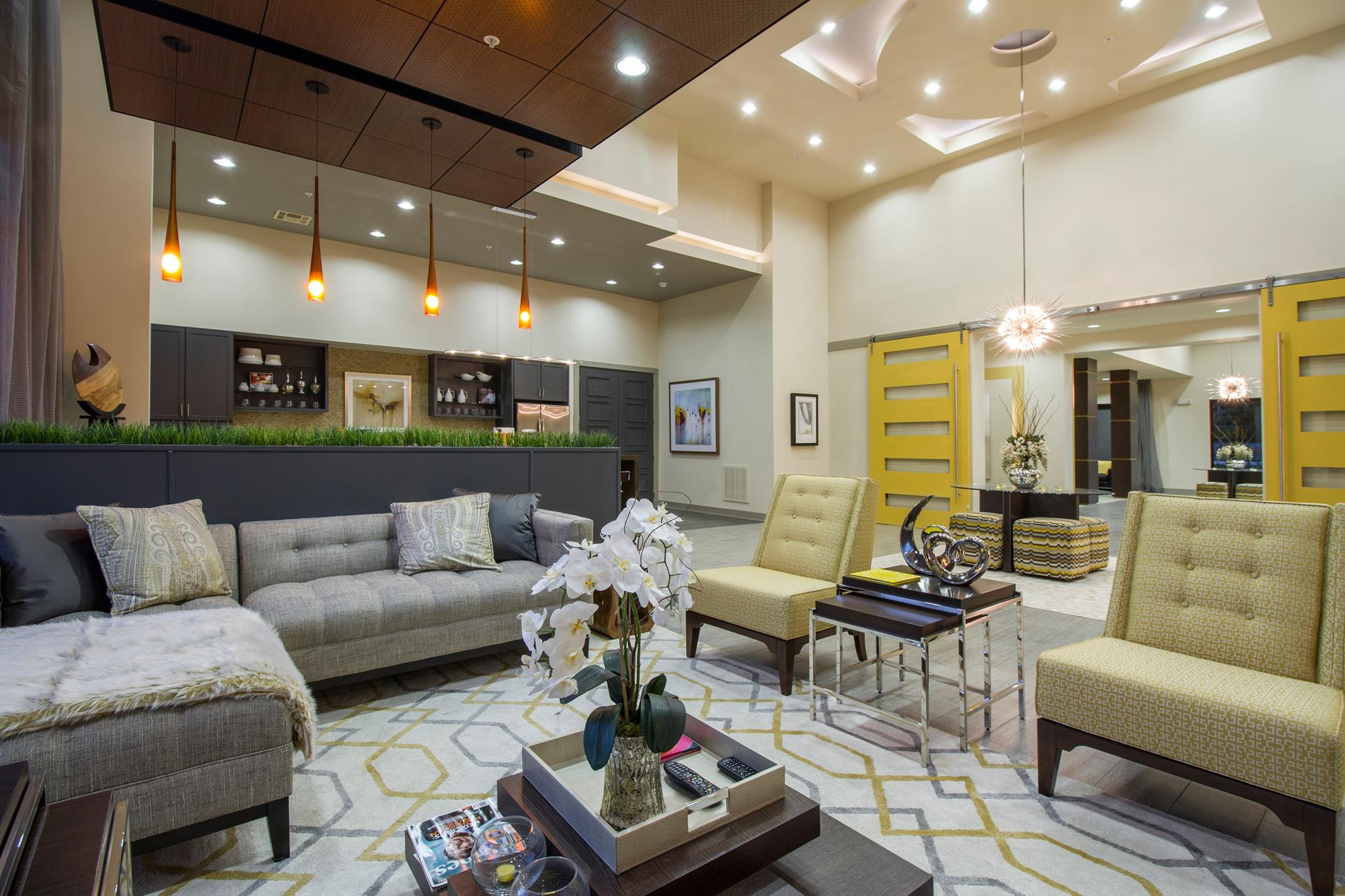 Resident Lounge and Gathering Room with Wi-Fi at The District, Baton Rouge, LA 70808