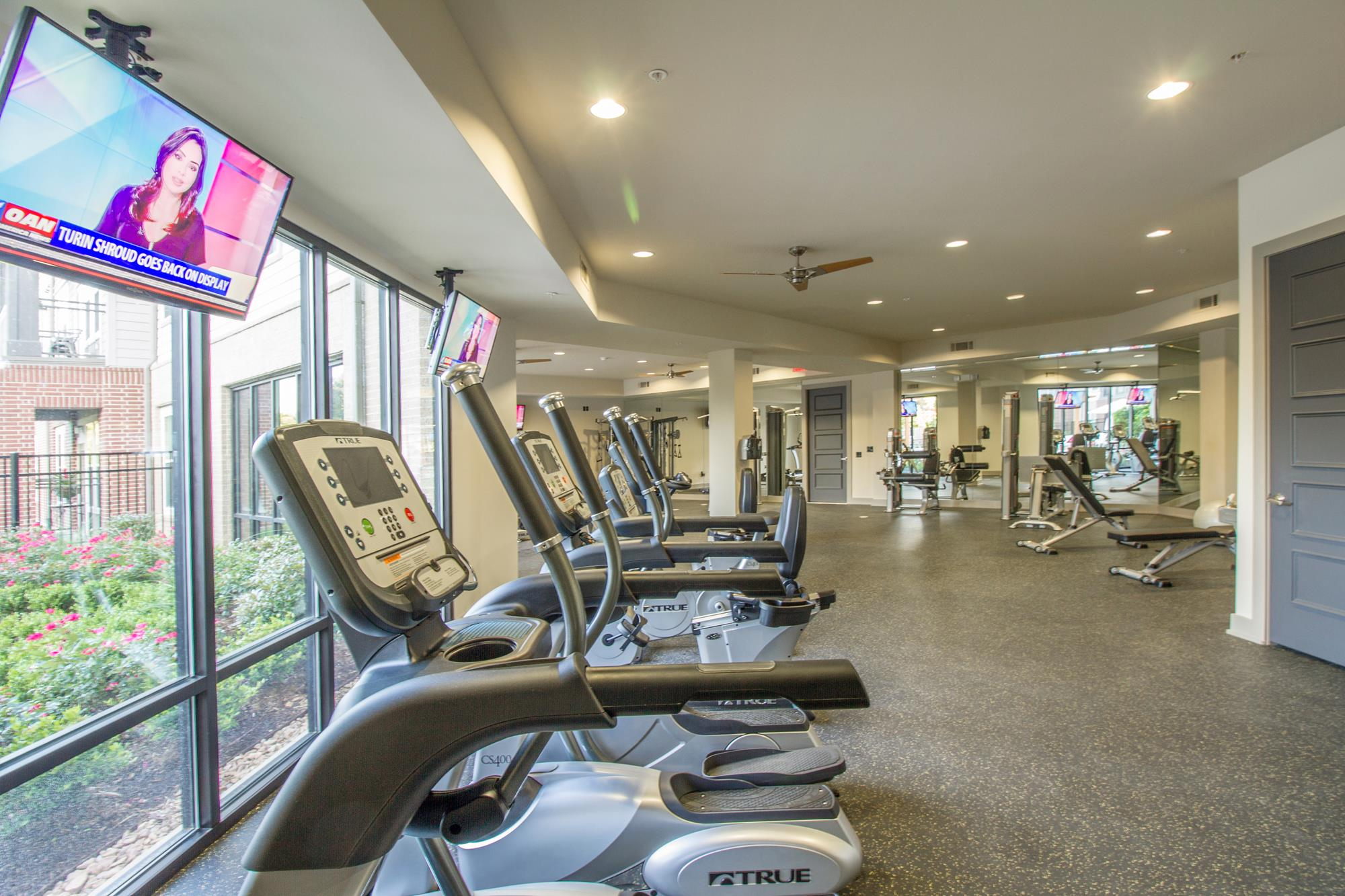 Cardio Equipment at The District, Baton Rouge,Louisiana