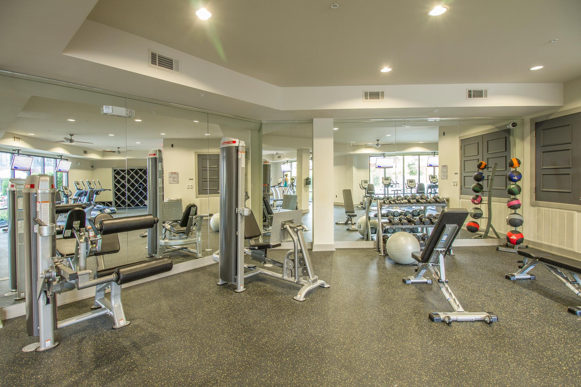 High-Tech Fitness Center at The District, Baton Rouge
