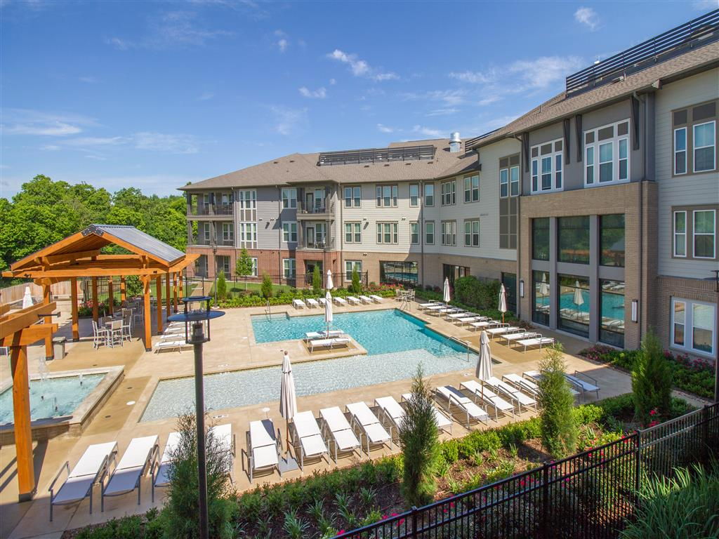 Pool Cabana & Outdoor Entertainment Bar at The District, Baton Rouge, LA 70808