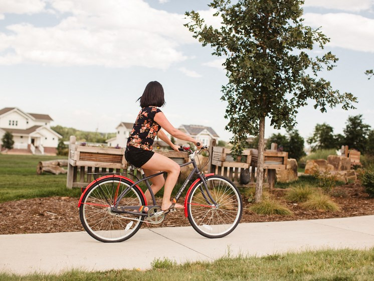 Bike Path Apartments | Apartments For Rent Fort Collins